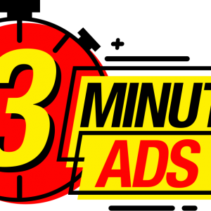 3 Minutes Ads – Make 2000$ Day Posting 3 Minutes Ads by Duston Mcgroarty