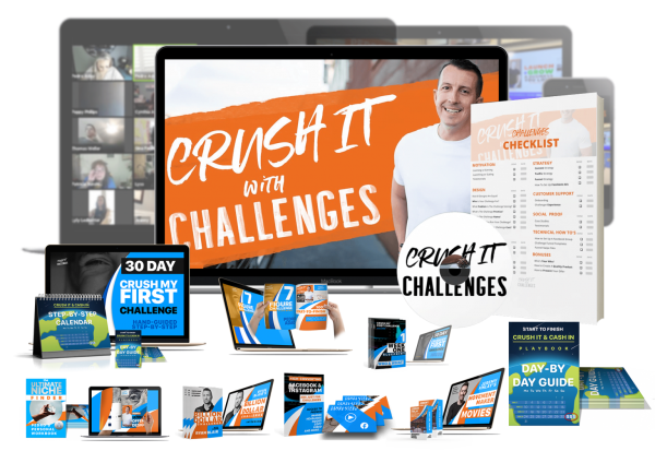 Crush It With Challenges with Pedro Adao