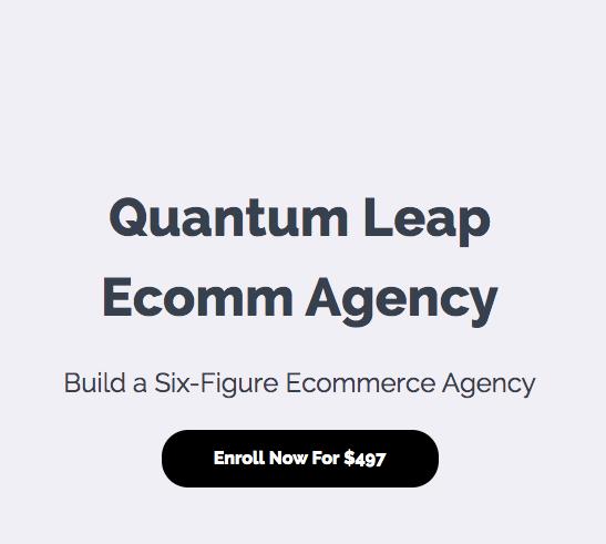 Kai Bax Quantum Leap Ecomm Agency