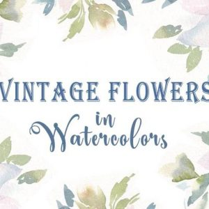 Vintage Loose Florals in Watercolors: Learn to Paint White Flowers with Nina Watercolor Lover