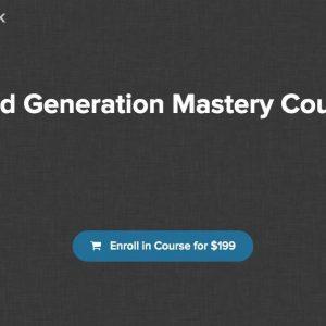 Lead Generation Mastery by Deepak Kanakaraju