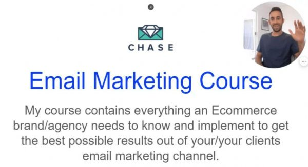 Chase Dimond – The Email Marketing Course — Free download