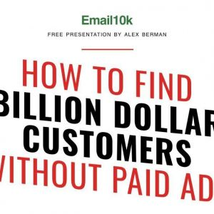 Email 10k Course by Alex Berman
