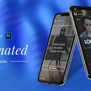 Create Animated Instagram Stories in Photoshop by Web Donut