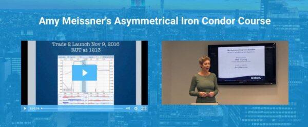 Asymmetrical Iron Condor by Amy Meissner