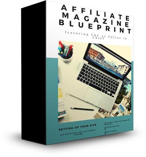 Affiliate Magazine Blueprint