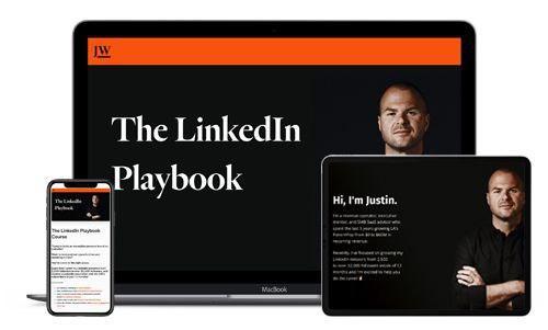 Justin Welsh - The LinkedIn Playbook