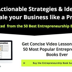 50 Most Popular Entrepreneurship Books Ever
