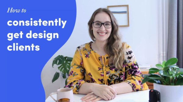 How To Consistently Get Clients For Your Design Business with Malin Lernhammar