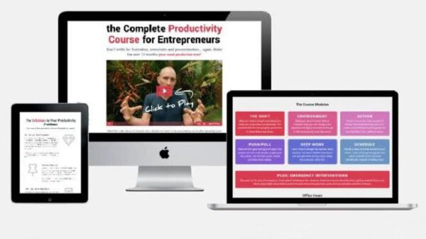 Focus and Action Productivity Course 2019 by Shane Melaug
