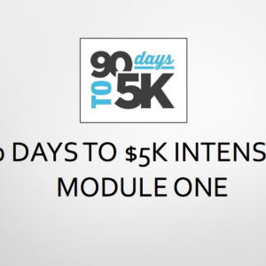 90 Days To $5K by Edna Keep