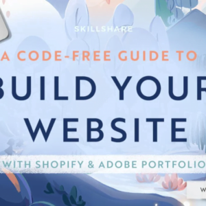 Build Your Website with Shopify and Adobe Portfolio (And No Coding)