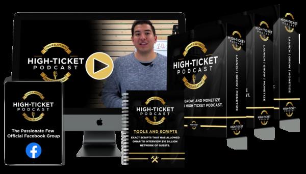 High Ticket Podcast Accelerator by Omar Elattar