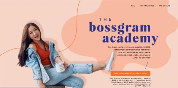 Vanessa Lau – BOSSGRAM Academy