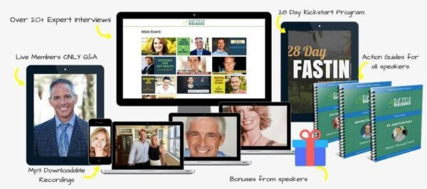 Detox Dialogues – Heal and Strengthen The Body by Detoxing