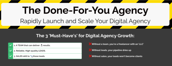 The Done For You Agency by Tyler Narducci