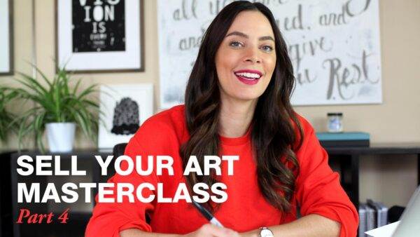 Sell Your Art Masterclass Part 4 with Melanie Greenwood