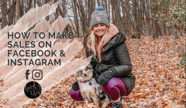 How to Make Sales on Facebook and Instagram for Small Business / Network Marketing with Addy Stepaniak