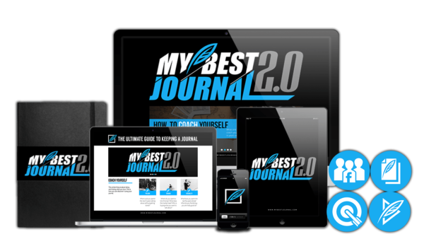 My Best Journal 2.0 – The Ultimate Guide to Keeping A Journal by Clark Kegley