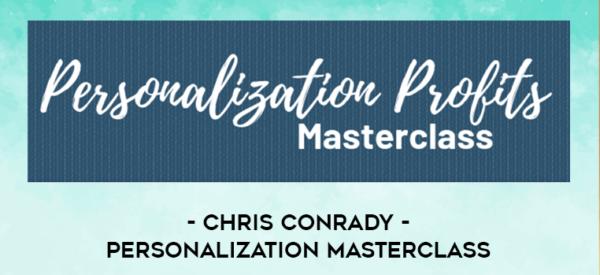 Personalization Masterclass by Chris conrady