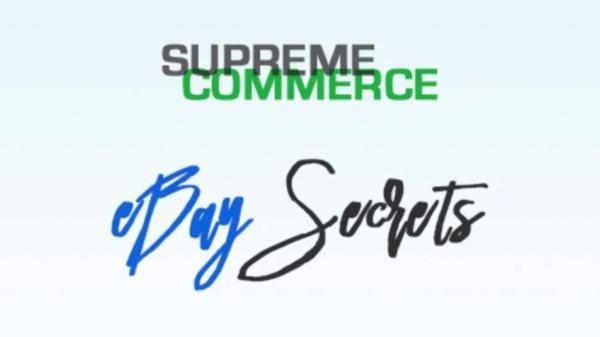 Supreme Training – Secrets To Successful Ebay Dropshipping