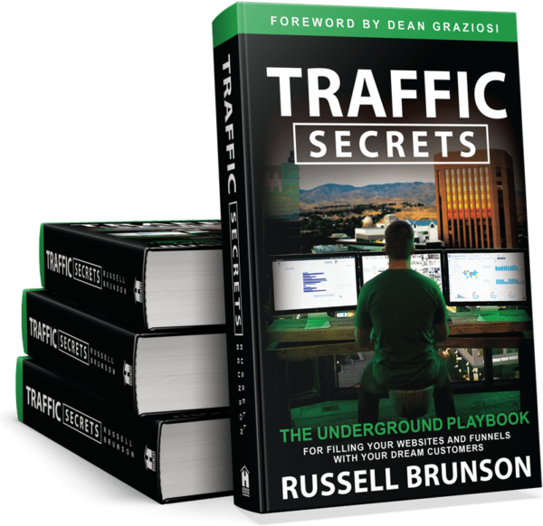Traffic Secrets: The Underground Playbook by Russell Brunson