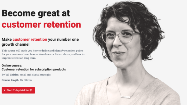 Customer Retention for Subscription Products by Val Geisler