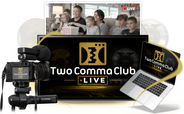 Two Comma Club- LIVE Virtual Conference with Russell Brunson