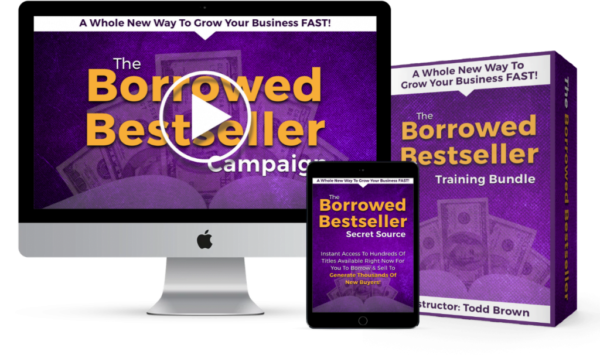 Borrowed Best Seller with Todd Brown