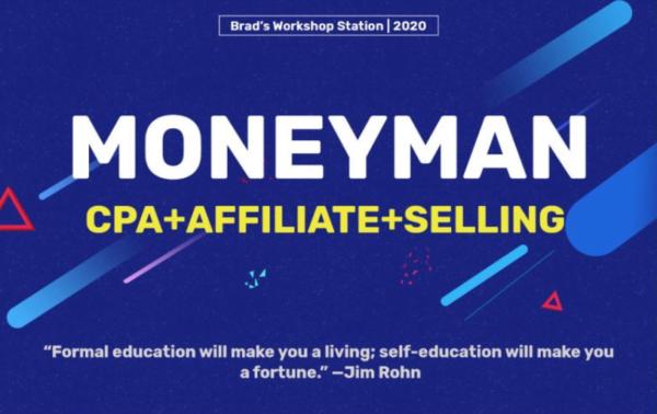Moneyman – CPA + Affiliate + Selling