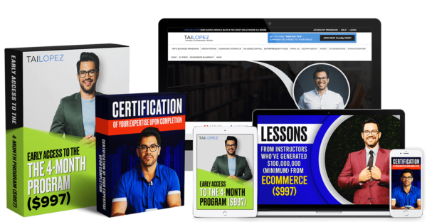 Ecommerce Specialist Certification by Tai Lopez
