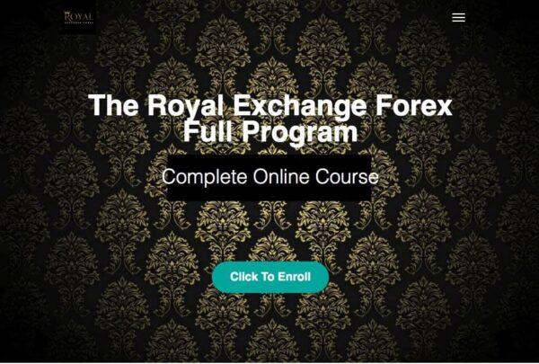 The Royal Exchange Forex Full Program by Jan Teslar