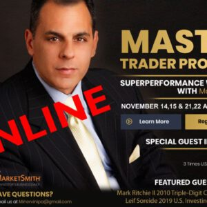 5-Day Master Trader Program ONLINE EVENT by Mark Minervini