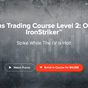 Advanced Options Trading Course Level 2: Options IronStriker with Adam Khoo