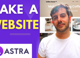 Make a Website with the Astra Theme by David Utke
