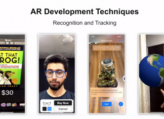 AR Development Techniques 03: Recognition and Tracking with Parth Anand