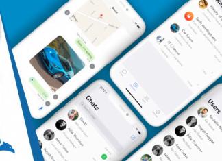 iOS 14 & Swift Chat Application Like Whatsapp Viber Telegram