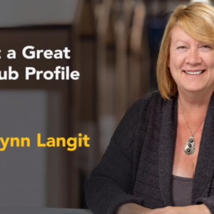 Craft a Great GitHub Profile with Lynn Langit