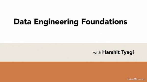 Data Engineering Foundations with Harshit Tyagi