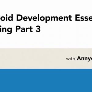 Android Development Essential Training: 3 Navigation with Annyce Davis