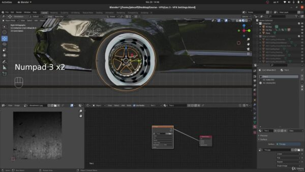 Blender VFX Tutorial Rig & Animate a Realistic Car in Real