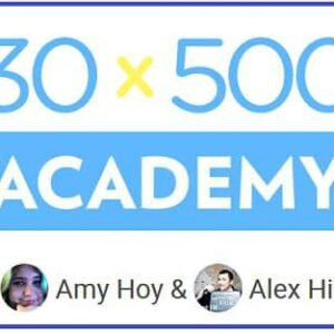 Amy Hoy & Alex Hillman 30×500 Academy