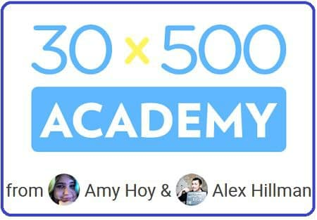 Amy Hoy & Alex Hillman 30x500 Academy Download Now