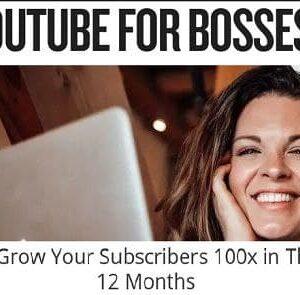 YouTube for Bosses 3.0: The C.O.D.E. Method  By Sunny Lenarduzzi