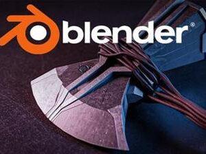 Blender Create Thor's Stormbreaker From Start To Finish