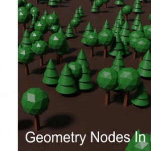 Procedural Modelling In Blender With Geometry Nodes (Blender 2.92)