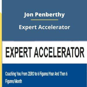 Expert Accelerator from Jon Penberthy