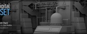 Creative Development – Sci-Fi Set Modeling in Maya by Ashish Dani