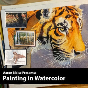 Watercolor Painting Course with Aaron Blaise Gift