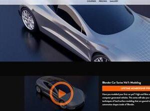 CGFasttrack – Blender Car Series Vol 1 Modeling